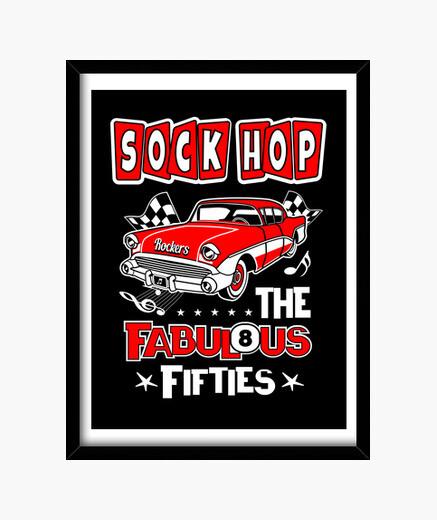 retro rockabilly 1950s sock hop dance party 50s rock n roll