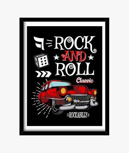 rock rockabilly coches clásicos rockers vintage retro rock n roll