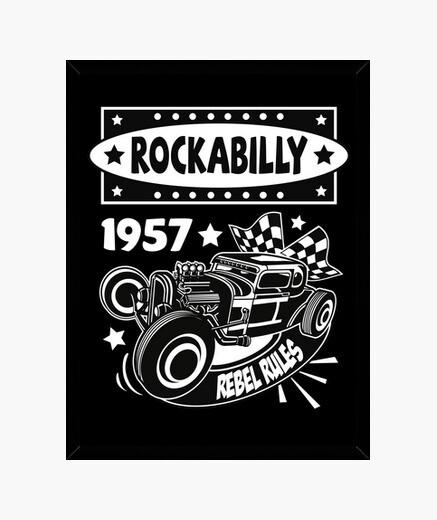 rockabilly music hotrod vintage usa rock and roll