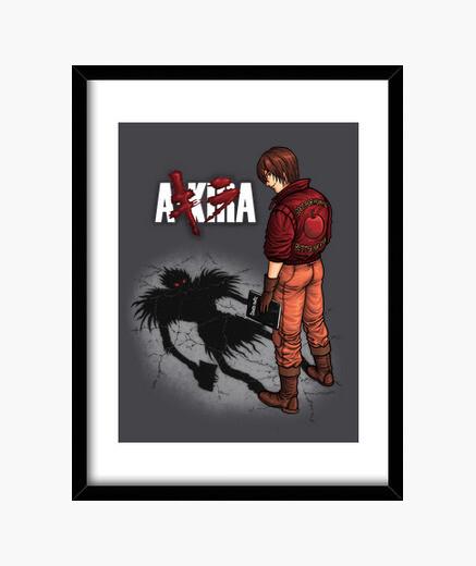 A-kira box with vertical frame 3: 4 (30 x 40 cm) framed print
