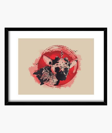 A new leyend framed print