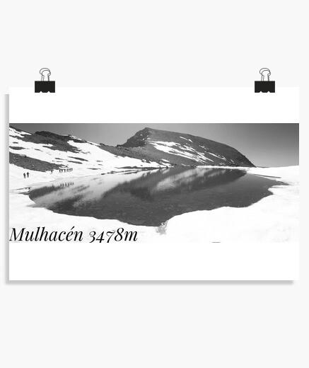 Poster affiche mulhacen horizontale 3