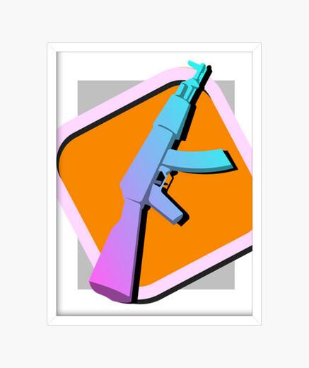 Cuadro AK47 - Vice City