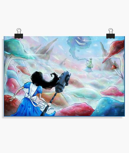 Póster Alice in Wonderland
