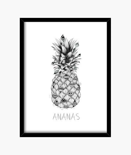 Cuadro Ananas