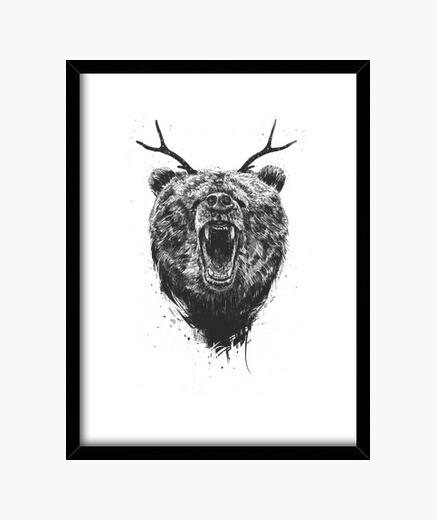 Cuadro Angry bear