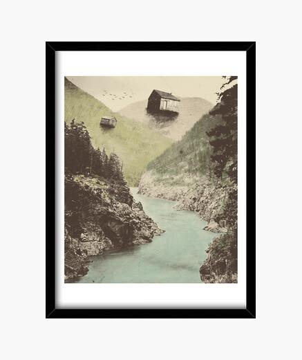 Antigravity framed print