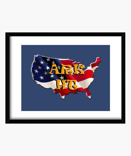 Cuadro ARK HT USA MAP