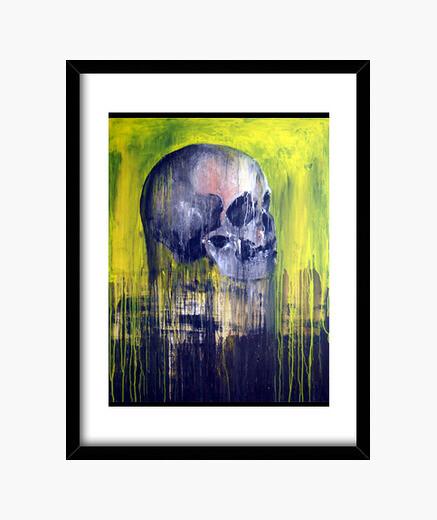 Cuadro Arte moderno - Cráneo humano