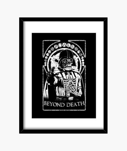 Cadre au-delà de la mort.