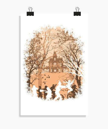 Poster automne en astoria