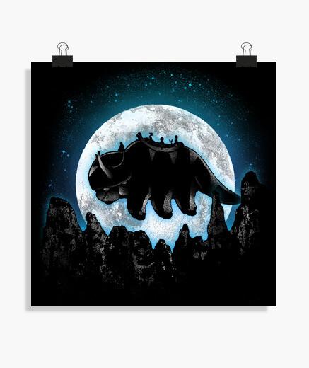 Poster avatar au clair de lune