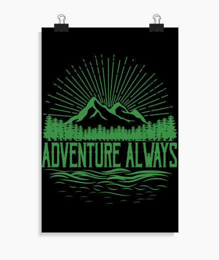 Poster aventure toujours drôle de...