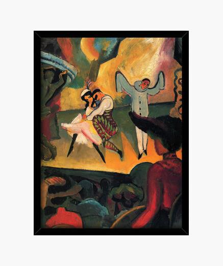 Cuadro Ballet Ruso (1912)