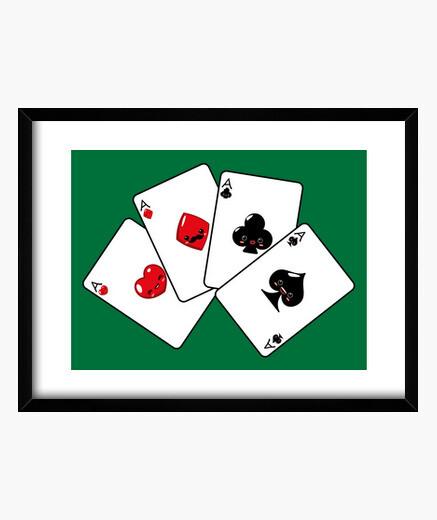 Cuadro Baraja de Poker