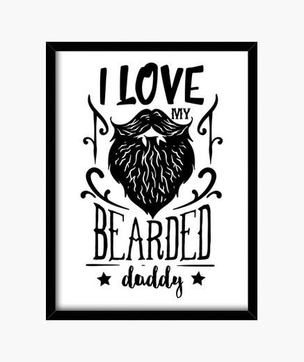Quadro barba hipster barba beard men barbe