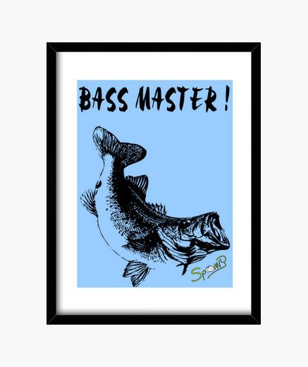 Cuadro Bass Master