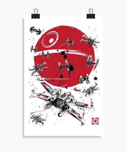 Poster battle of yavin