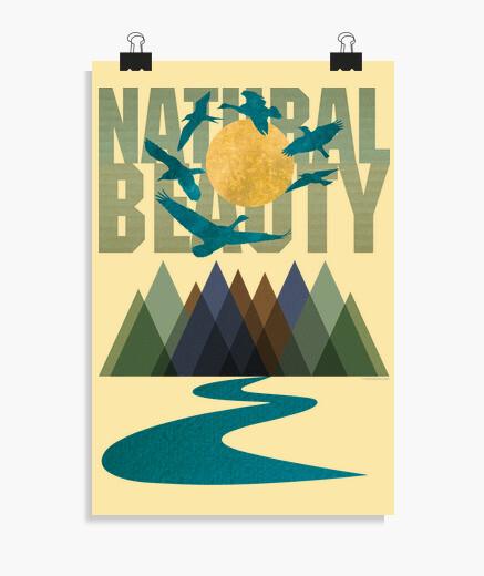 Poster beauté naturelle - textures
