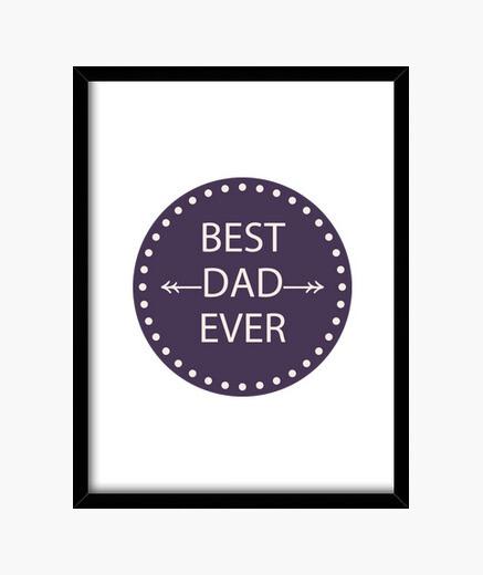 Quadro best dad mai 3
