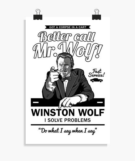 Póster Better call Mr. Wolf