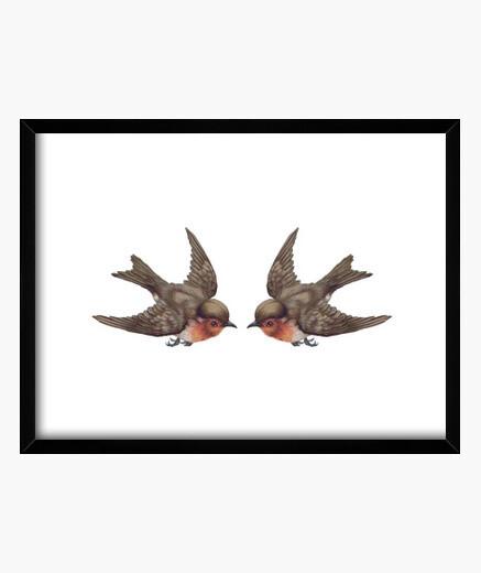 Cuadro Birds