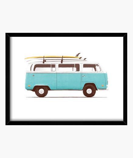 Cuadro Blue Van
