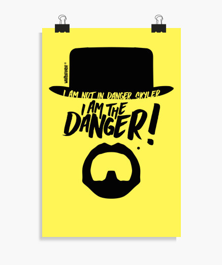 Póster Breaking Bad - I am the danger