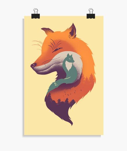 Póster brisa foxy