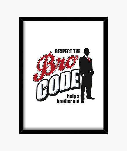 Cuadro Bro Code