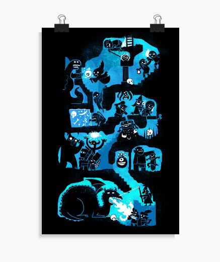 Poster cachots de donjon
