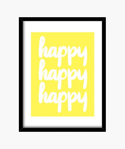 Cadre heureux
