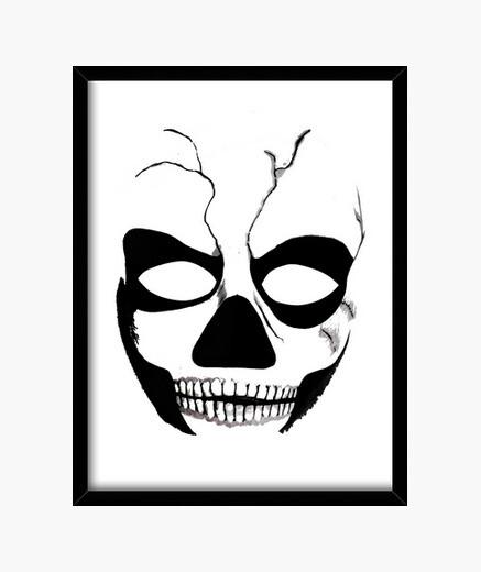Cuadro Calavera skull