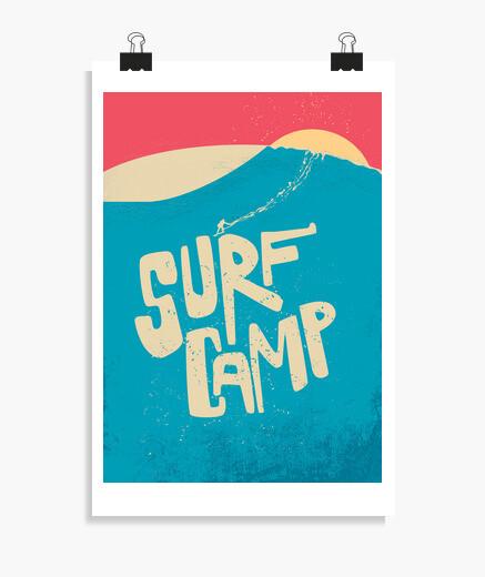 Poster camp de surf