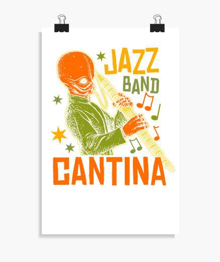 Póster Cantina Jazz Band