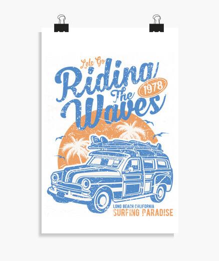 Poster cavalcando l39 wave s