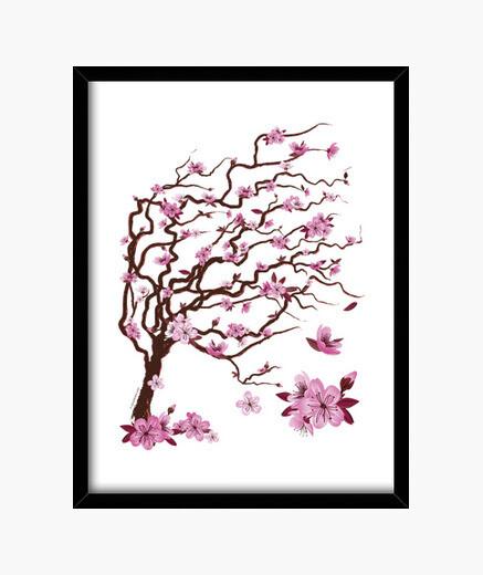 Cadre cerisier japonais