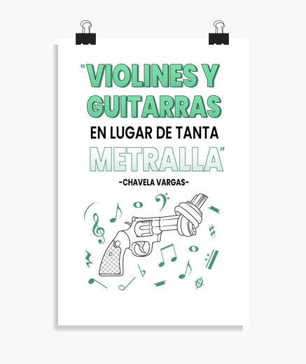 Póster Chavela - fondos claros