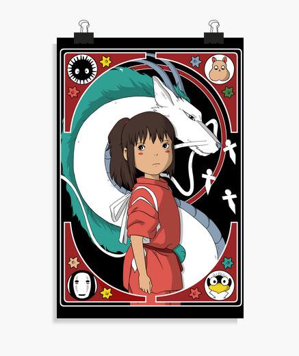 Poster clesico chihiro