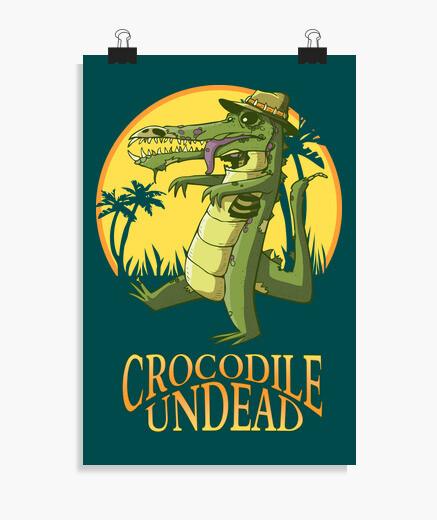 Poster coccodrillo un dead