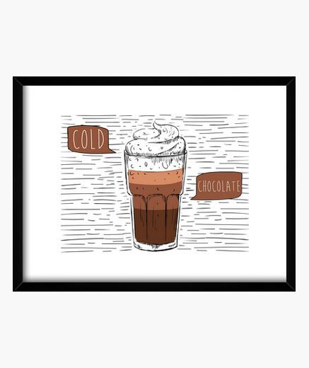 Quadro cold al cioccolato