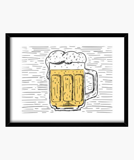 Cadre cold bière
