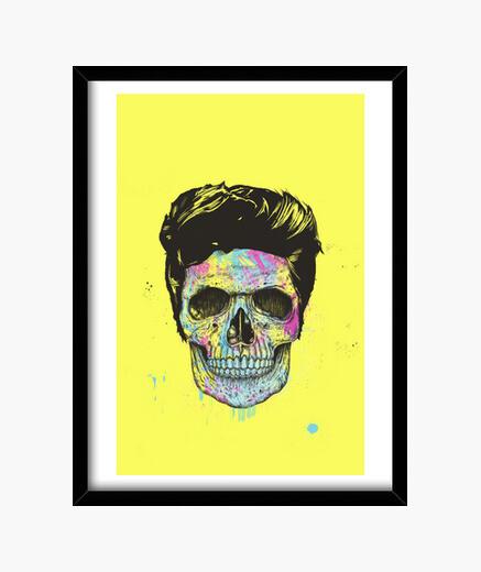 Cuadro Color your death (case)