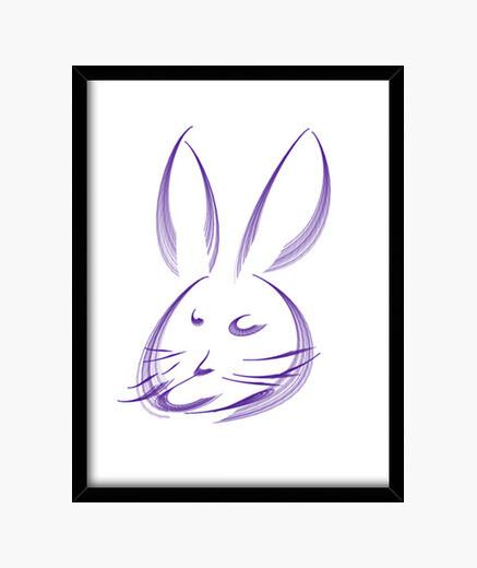 Cuadro Conejo
