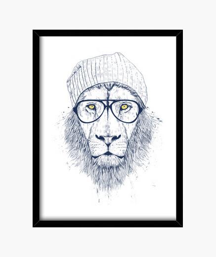Cuadro Cool Lion