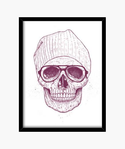 Cadre crâne frais