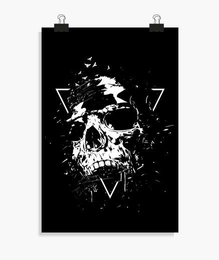 Poster crâne x