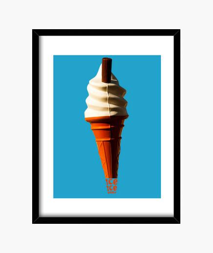 Cadre crème glacée
