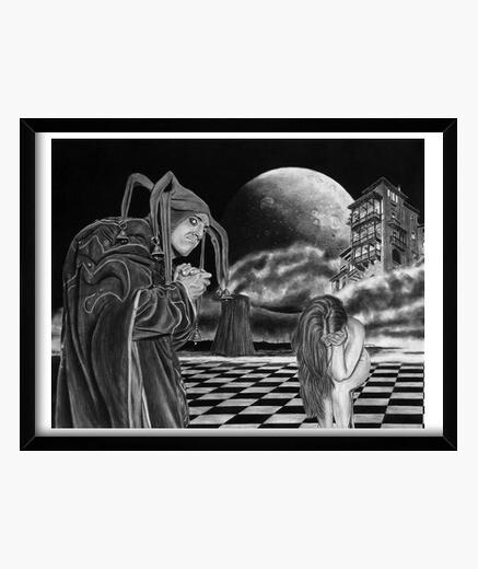 Cuadro Agorafobia - Obra del artista...