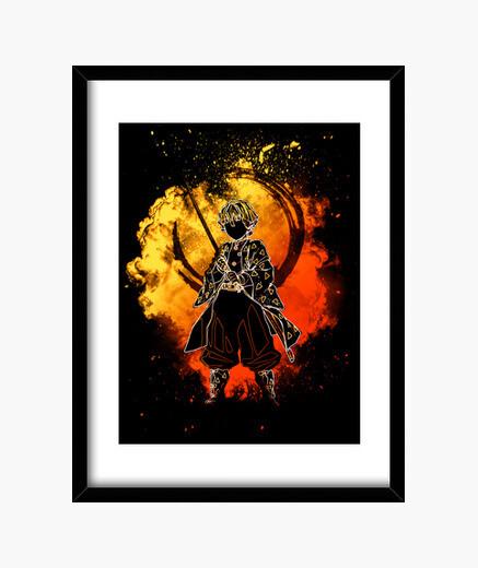 Cuadro alma del cazador dorado